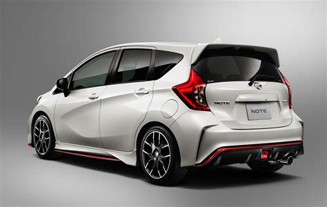 nismo nissan nissan note nismo makes compact crazy slashgear