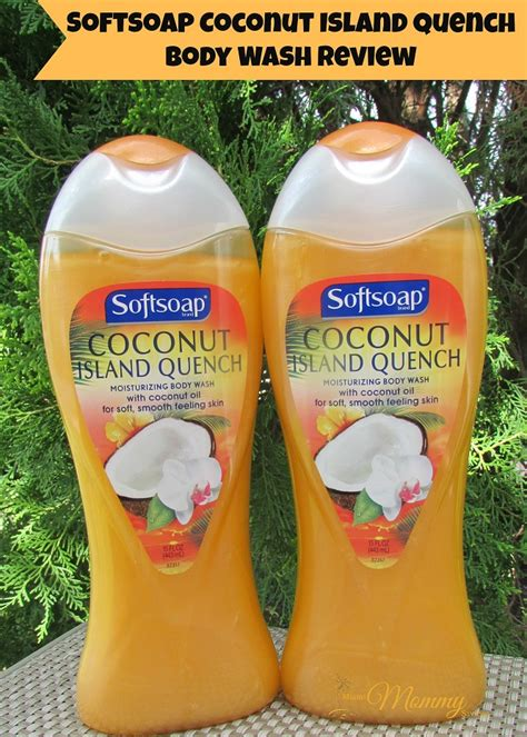 coco quench review softsoap coconut island quench body wash review summer