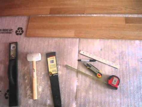 installing home depot laminate flooring step3 install