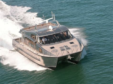 a class catamaran for sale nz grey heron auckland luxury charter boat high speed 16m