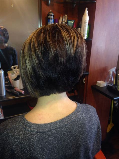 what does a inverted bob look like from the back of the head stacked bob this is what i dont want it to look like