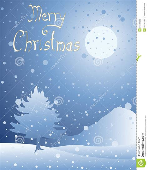 snow greeting stock photo image