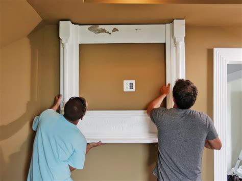 how high to mount tv on wall in bedroom how to build a tv wall mount frame how tos diy