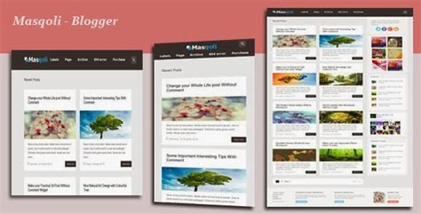 theme blog xml masqoli responsive blogger template by md jillur rahman