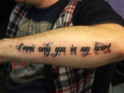 tattoo love quotes for men 10 quote tattoos for images and pictures