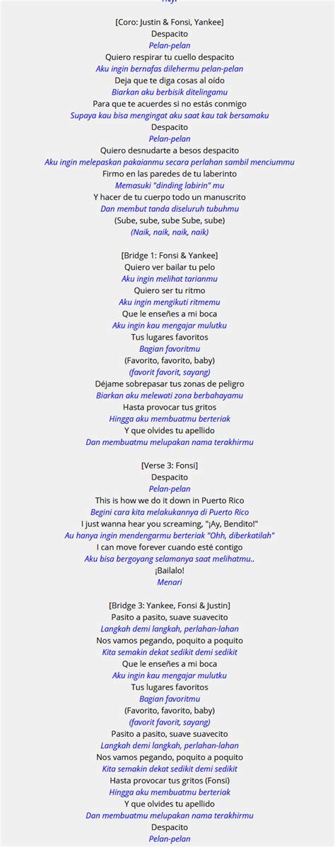 membuat cerpen dari lirik lagu astaga ternyata arti lirik lagu despacito sangat mengerikan