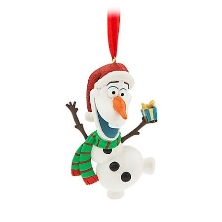 disney christmas ornament santa olaf frozen