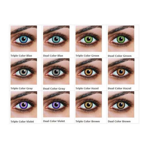 how much are colored contacts guide to non prescription colored contacts liked on