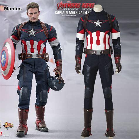Steve Roger Suit 2 age of ultron captain america steve rogers costume