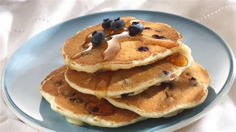 blueberry pancake blueberry pancakes cooking for 2 recipe from betty crocker