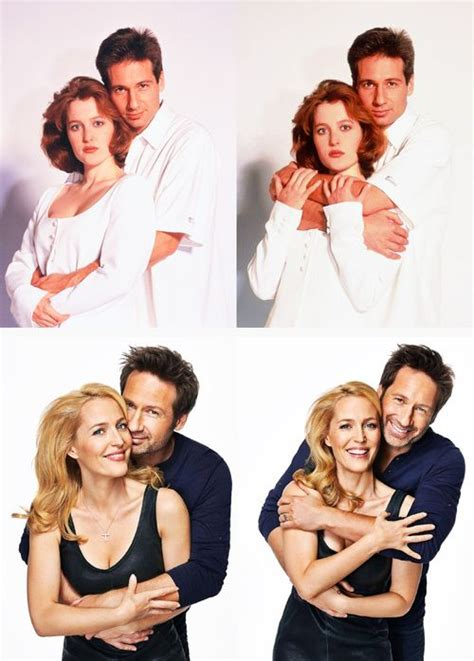 Duchovny Back On Tv by Gillian David Duchovny For Drew