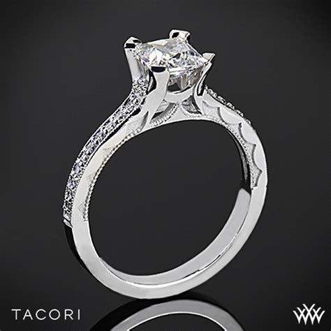 tacori 58 2 pr sculpted crescent grace for princess