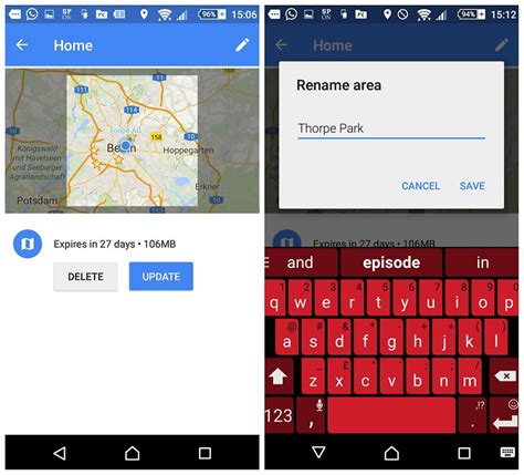 offline for android mobile use maps offline on ios android devices without