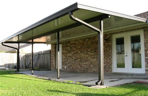 Protecting Your Car With A Patio Cover Covered Driveway Patio Aluminum Roof