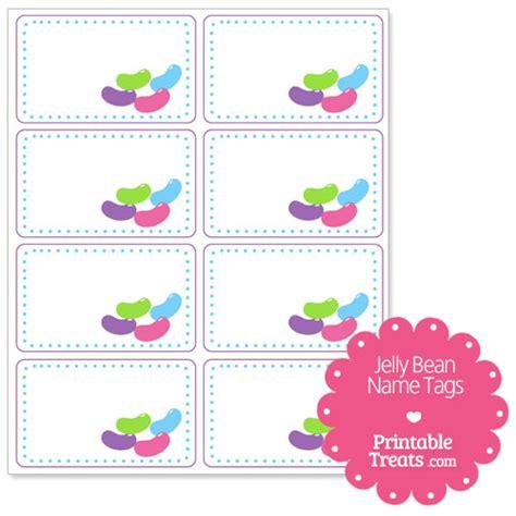 Printable Jelly Bean Name Tags | printable jelly bean name tags printable treats com