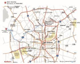 map of san antonio and surrounding area maps