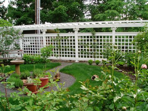Fencing And Trellis Fence And Trellis Traditional Landscape Other Metro