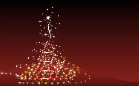 Lights For Christmas Wallpaper Red New Year Christmas Tree Christmas