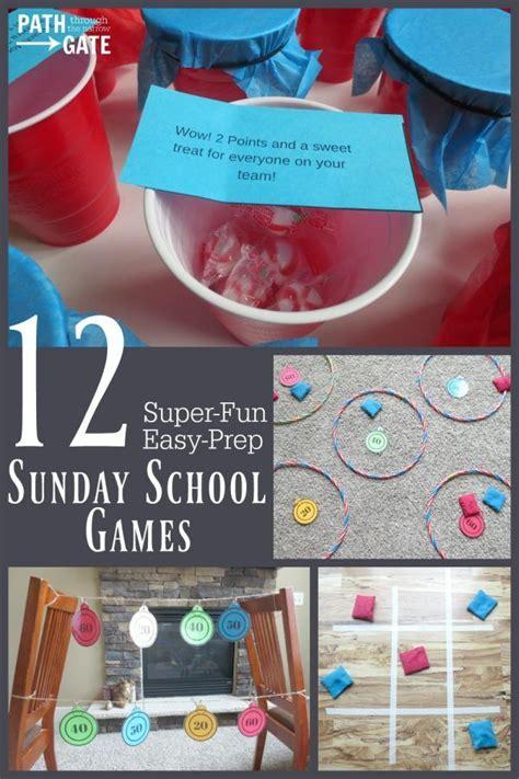 If You Teach Sunday School You Need Sunday School Games