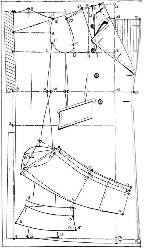 1940s pattern | costuras | Patrones de ropa, Patrones de