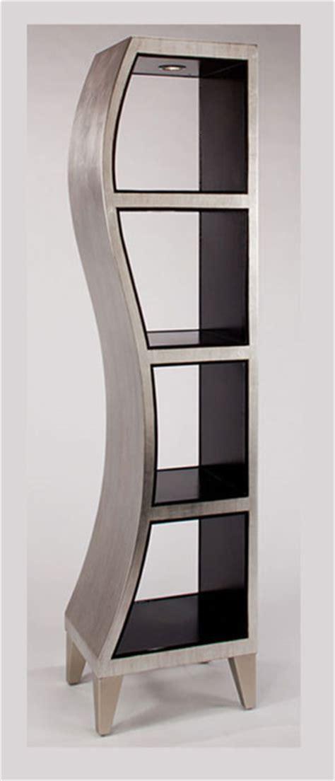 image gallery silver bookshelf
