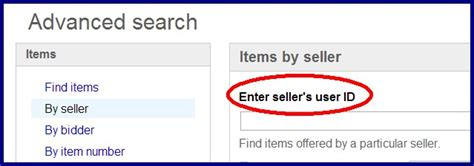 Search Ebay Seller By Email Can I Find A Seller By Using There Email Address The