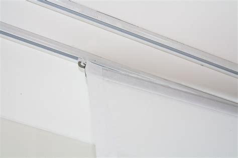 flachenvorhang normale gardinenschiene fl 228 chenvorhang transparent weiss 60cm 80cm 120cm breit