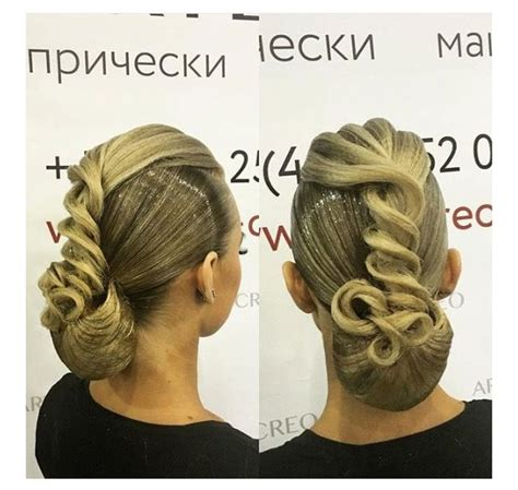ballroom hair styles with bangs 1000 ideas about ballroom dance hair on pinterest