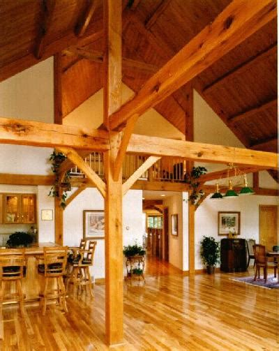 exposed wood beams r l merlie co tour exposed beams of a timber frame home