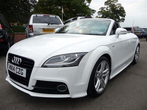 Audi Tt 1 8 Tfsi by Used 2014 Audi Tt 1 8 Tfsi S Line 2d 158 Bhp For Sale In