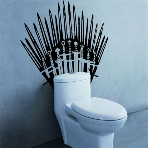 of thrones toilet of thrones toilet wall stickers chadstore co uk