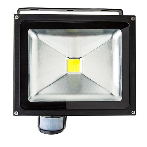 Motion Sensor For Light Fixture 30 Watt High Power Led Flood Light Fixture With Motion Sensor 1 070 Lumens Led Rechargeable