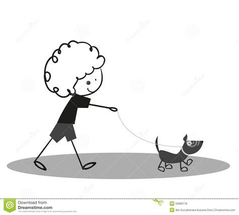 doodlebug walking doodle boy walking with stock vector
