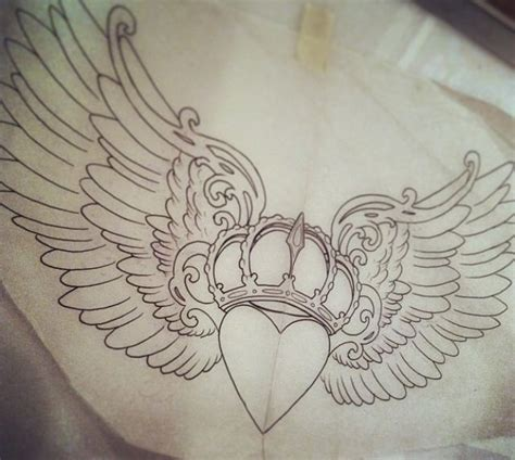underboob tattoo ideas claddagh design jd design