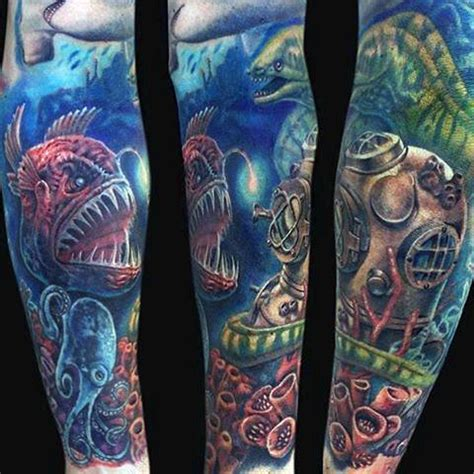 water themed tattoos 80 water tattoos for masculine liquid designs