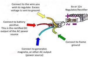 wiring a rectifier regulator page 2 motored bikes motorized bicycle forum