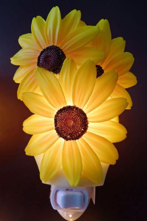 sunflower kitchen decor sunflower night light kitchen