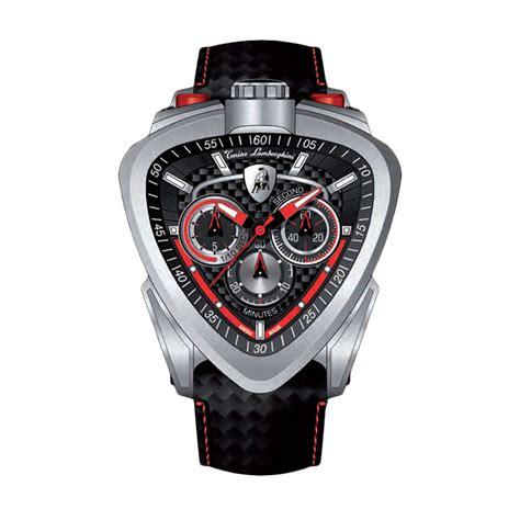 Jam Tangan Tonino Lamborghini Black jual tonino lamborgini tl12h 05 spider leather jam tangan pria black harga