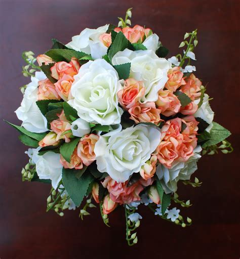Silk Wedding Bouquets by Silva Salazar Floral Productions Silk Wedding Bouquets