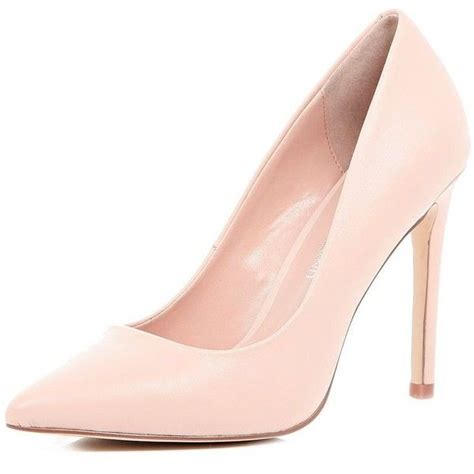 river island pink leather court shoes 33 liked on