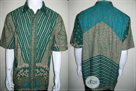 Kemeja Batik Ijo kemeja batik ijo jumbo unik lengan pendek batik tulis ukuran big size besar ld830t toko