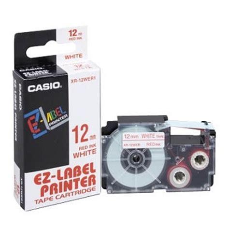Label Cartridge Casio Ez Label 12mm casio label