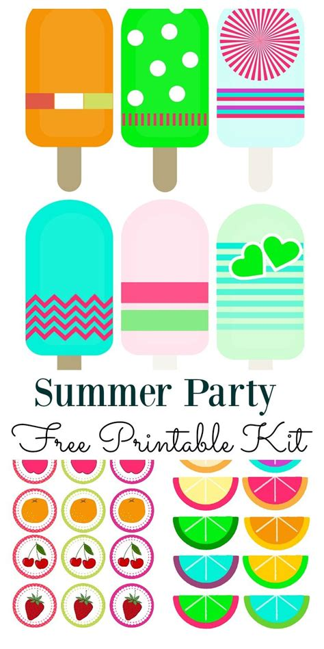 gift cards printable lights decoration summer mini kit free printable summer