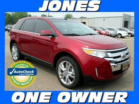 2013 ford edge warranty buy used 2013 ford edge fwd limited low warranty