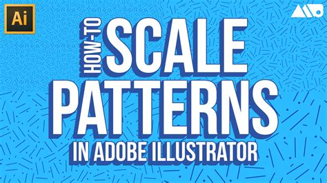 scale pattern adobe illustrator how to scale patterns in adobe illustrator tutorial youtube