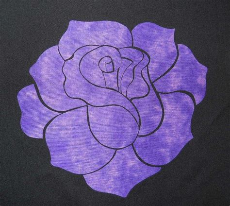 rose pattern name elegant rose applique pattern by humburgcreation craftsy