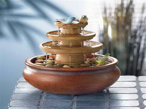 decoration small tabletop water fountains beautiful