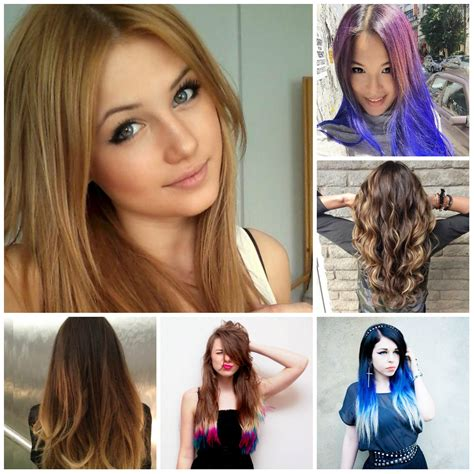 Hair colors for long hair 2016