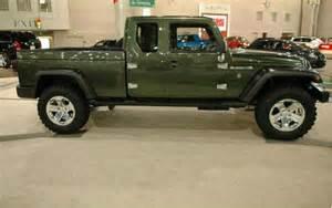 Jeep Truck Images 2017 Jeep Wrangler Truck Confirmed Roadandtrack
