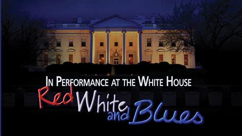 white and blues in performance at the white house pbs